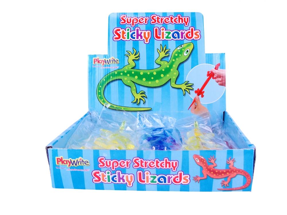 Stretchy Sticky Lizards Wholesale Toys