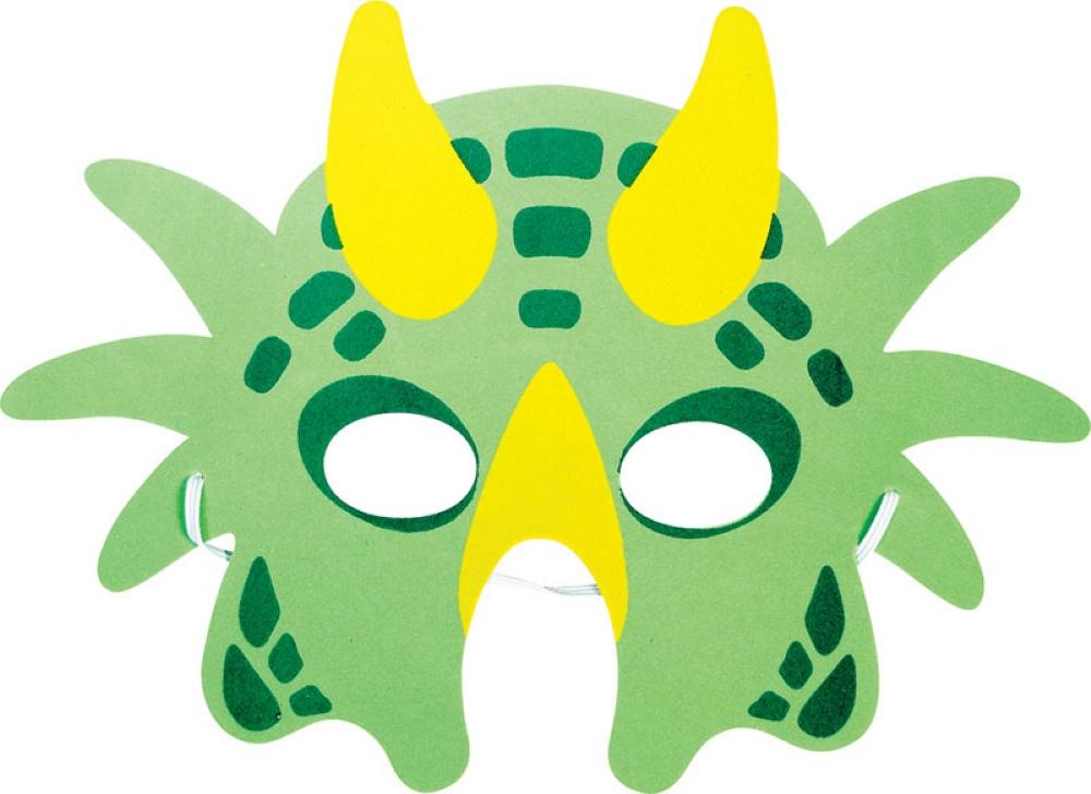 Как сделать маску динозавр 731