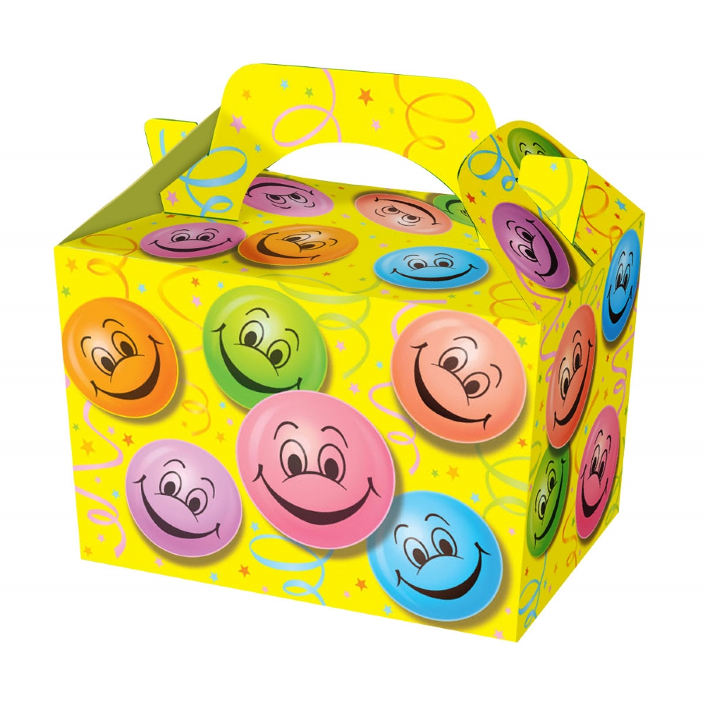 Smiley Face Food & Party Boxes - wholesale party supplies