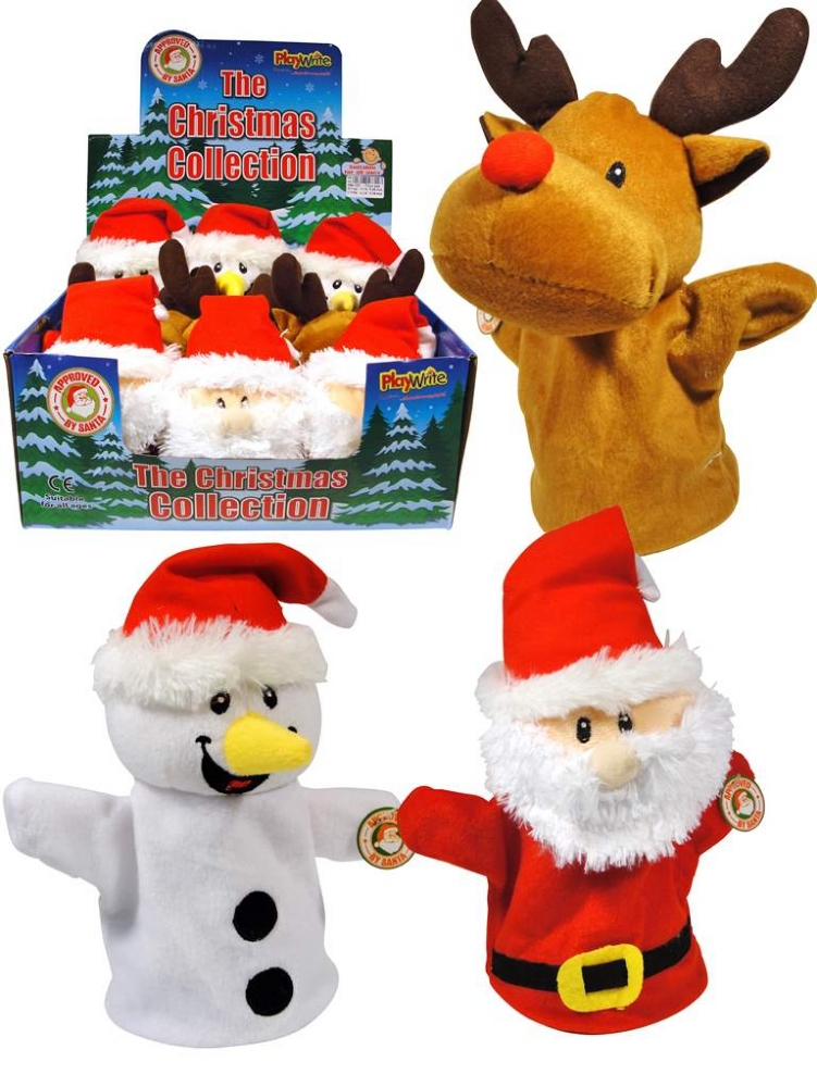 reindeer and dinosaur puppets - photo #40