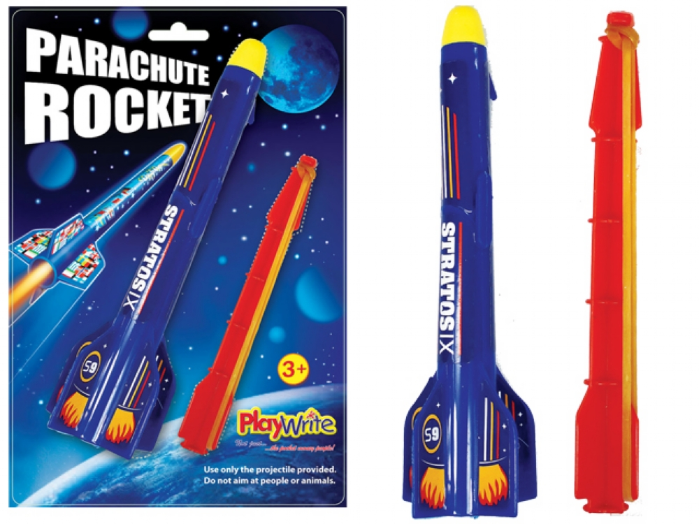 how to pack a parachute for a model rocket